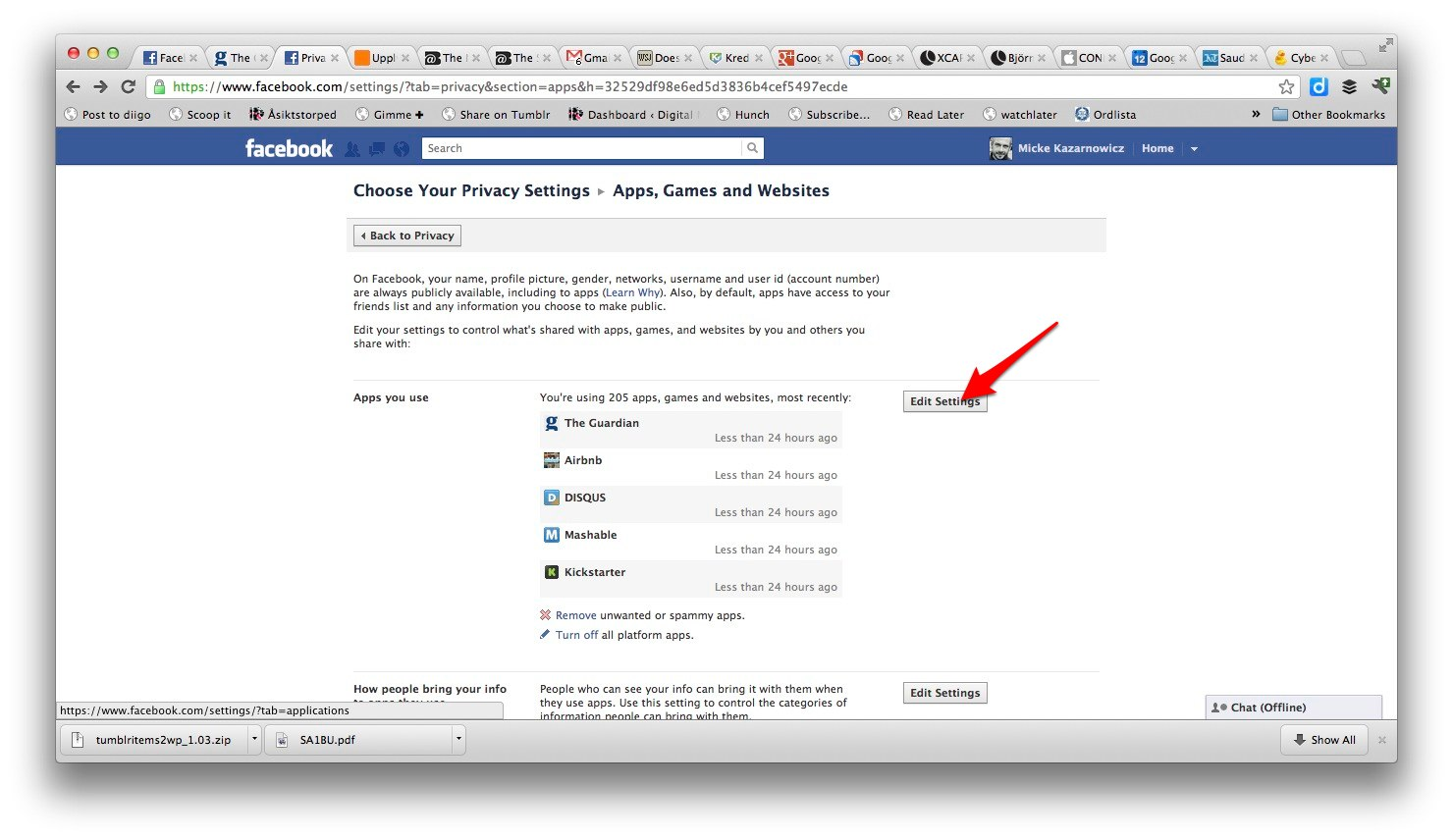 how to make shares private on facebook