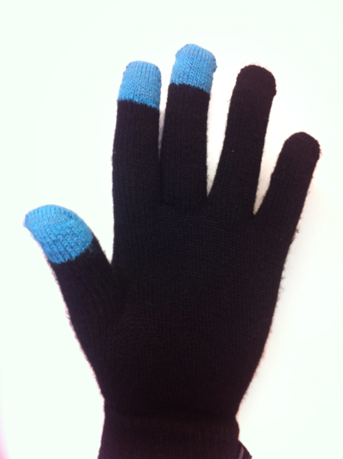 Touchscreen gloves from Telenor