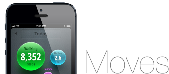 Moves app: great for life-logging, worthless for quantified self
