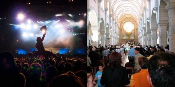 Nightclub vs church